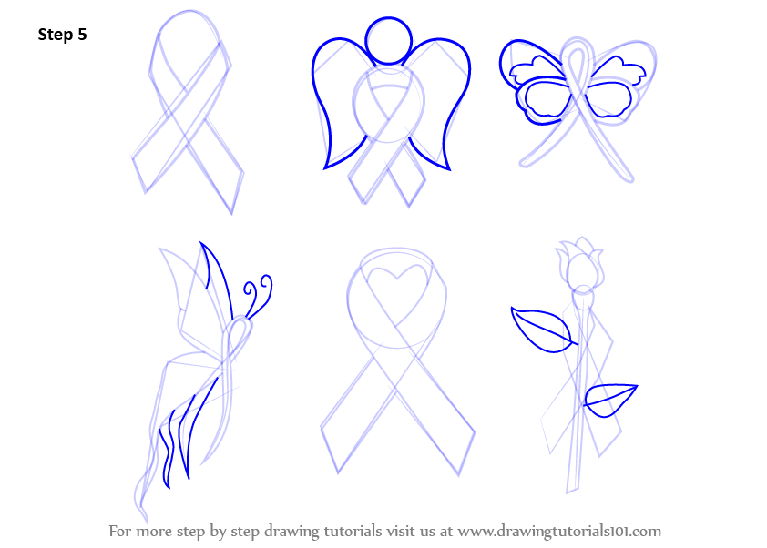 how to make a ribbon step by step