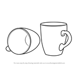 How to Draw Coffee Mugs