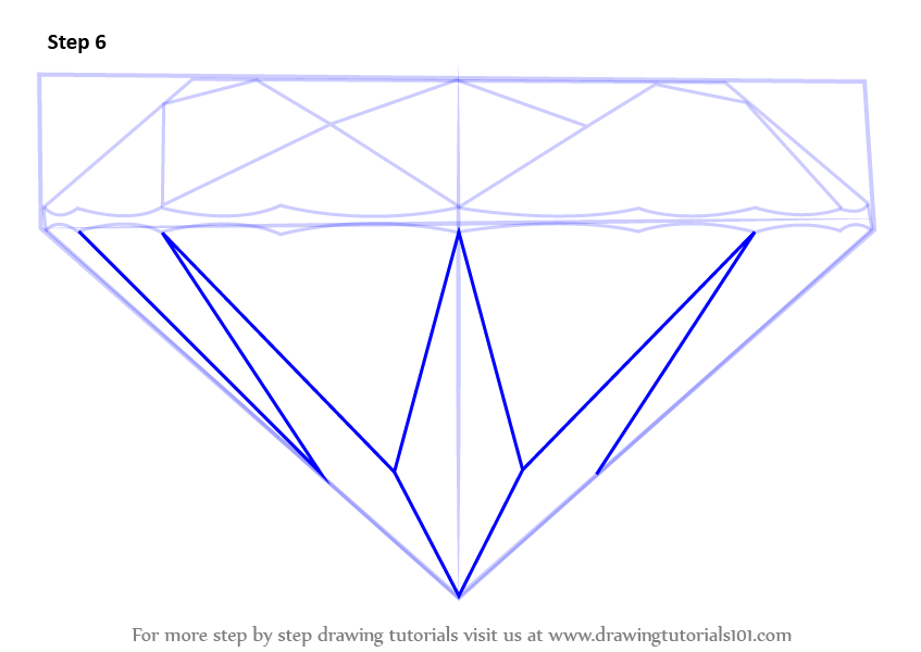 aff3af4a5d05a Learn How to Draw a Diamond (Everyday Objects) Step by Step ...