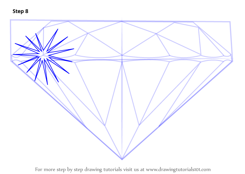 It's just a picture of Gratifying Diamond Shape Drawing