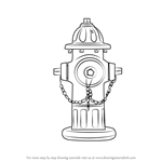 How to Draw Fire Hydrant
