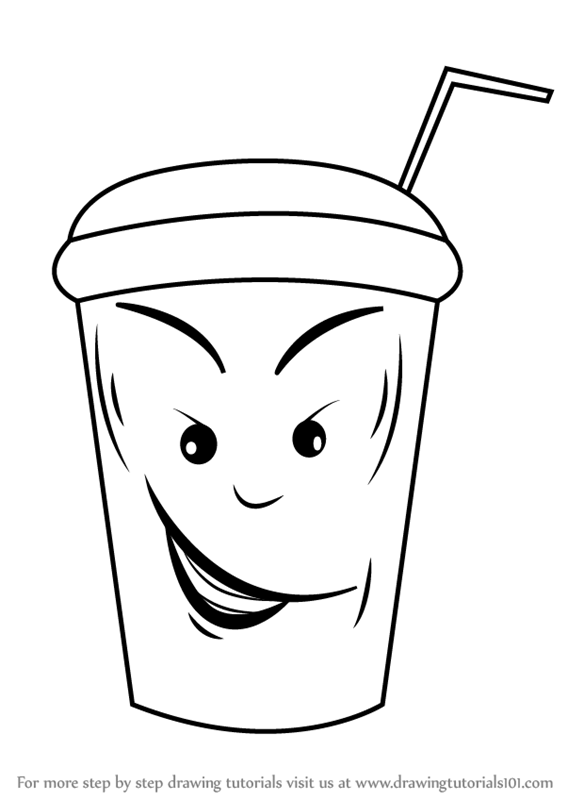 Learn how to draw ice cream cup everyday objects step by step drawing tutorials