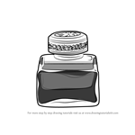 How to Draw an Ink pot