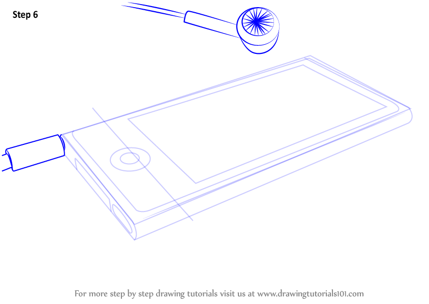 how to draw an ipod