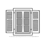 How to Draw Open Window