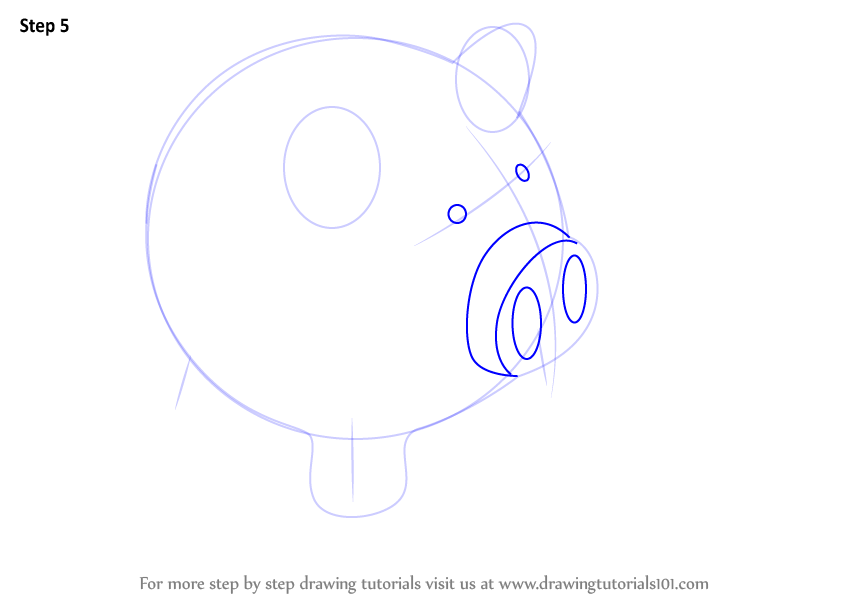 Line Drawing Piggy Bank : Learn how to draw a piggy bank everyday objects step by