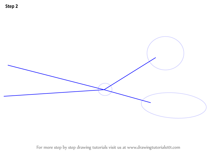 Learn How To Draw A Scissor Everyday Objects Step By Step