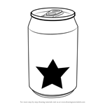 How to Draw a Soda Can