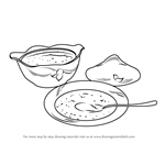 How to Draw Soup Bowls