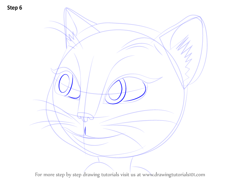 Learn How To Draw Talking Angela Everyday Objects Step