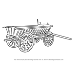 How to Draw Wood Cart