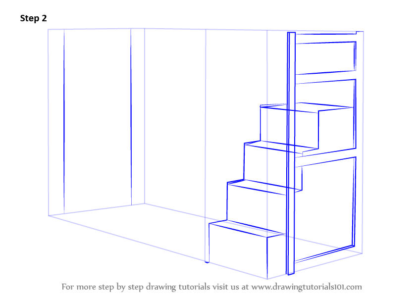 Draw The Stairs And Other Enhancements Across Drawing