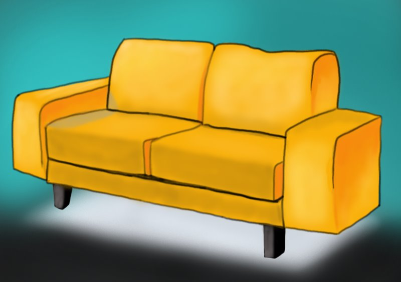 Couch Drawing