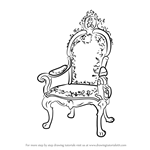 How to Draw a King's Chair
