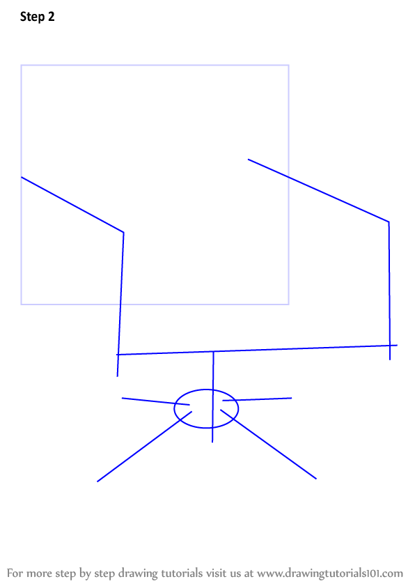 how to draw ivys chair