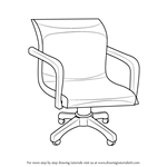 Learn How to Draw an Office Chair Furniture Step by Step Drawing