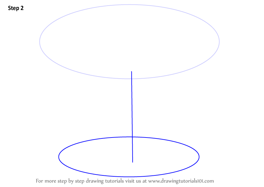 Step By Step How To Draw A Round Stool