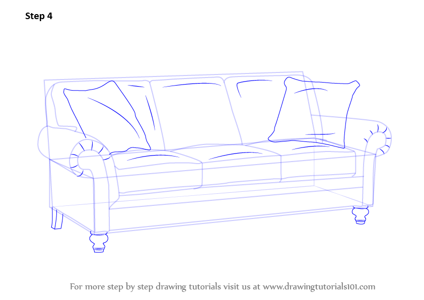 step by step upholstery 28 images how to reupholster a  : how to draw a sofa step 4 from 165.227.196.75 size 842 x 596 png 39kB