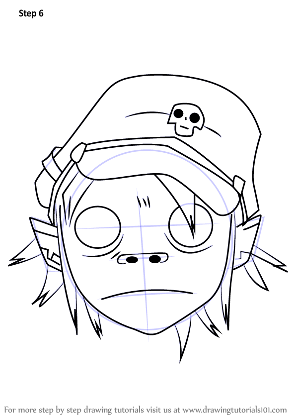 Learn How to Draw 2D from Gorillaz