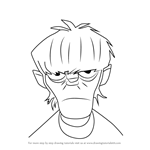 How to Draw Murdoc from Gorillaz