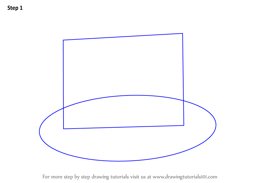 how to draw a rectangle of hey