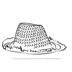 How to Draw Wooden Hat