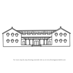 How to Draw a Roman House