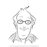 How to Draw Grampa Frank Miller from Junie B. Jones