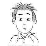 How to Draw Herb from Junie B. Jones