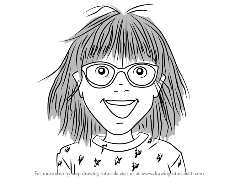 Learn How to Draw Junie B from Junie B Jones Junie B Jones