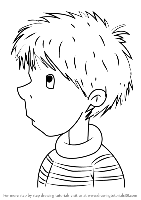 junie b jones coloring pages printable - step by step how to draw ollie from junie b jones