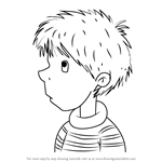 How to Draw Ollie from Junie B. Jones