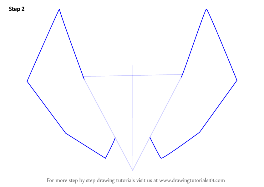 how to draw a love heart with wings