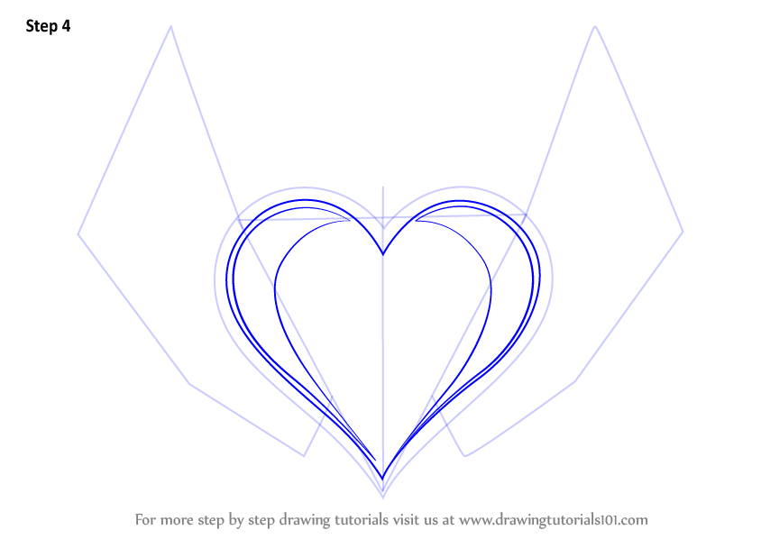 Heart And Rose Love Drawings Learn How to Draw Hear...