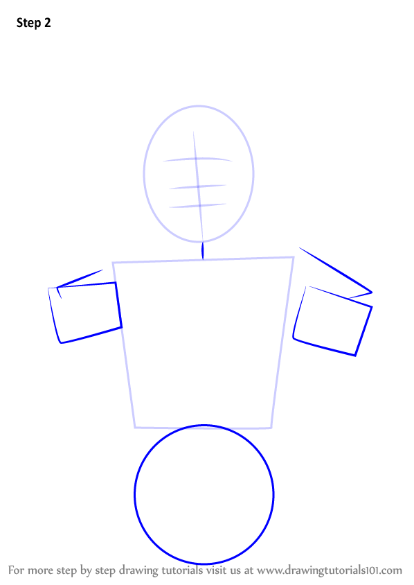 How To Draw Burger King Mascot Step 1 2 3