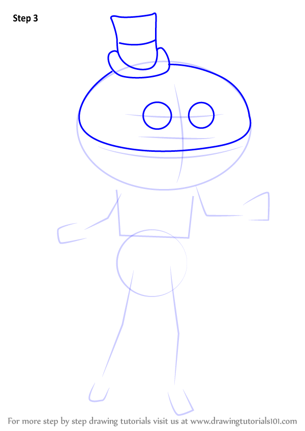 Learn how to draw mayor mccheese mascots step by step for How to draw cheese step by step