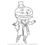 How to Draw Mayor McCheese