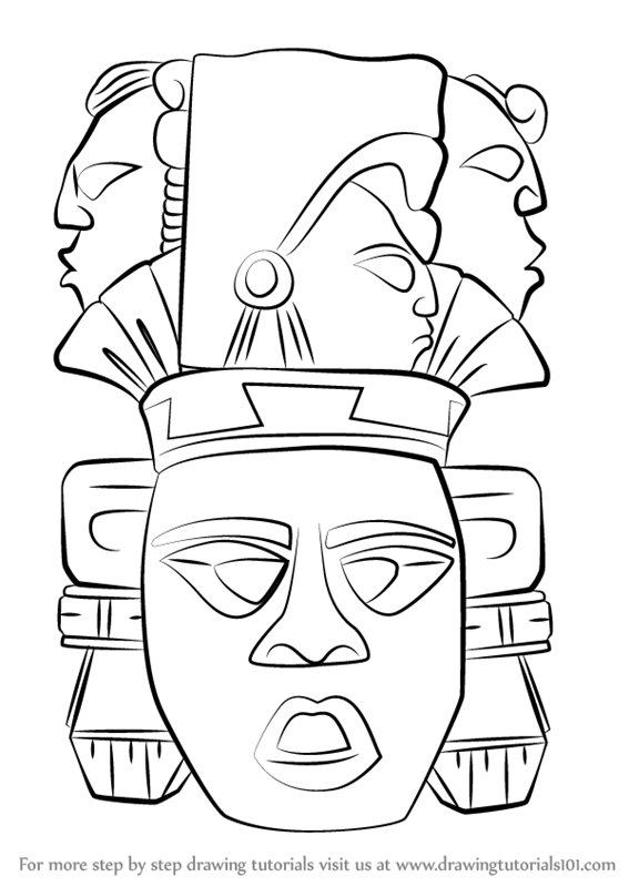 Learn How to Draw Indian Mayan