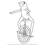 How to Draw dat Boi