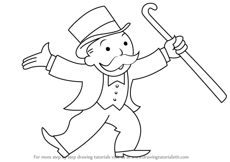 monoply coloring pages - photo#1