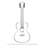 How to Draw an Acoustic Guitar