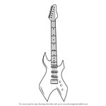 How to Draw an Electric Guitar