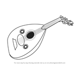 How to Draw Mandolin