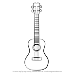 How to Draw a Ukulele