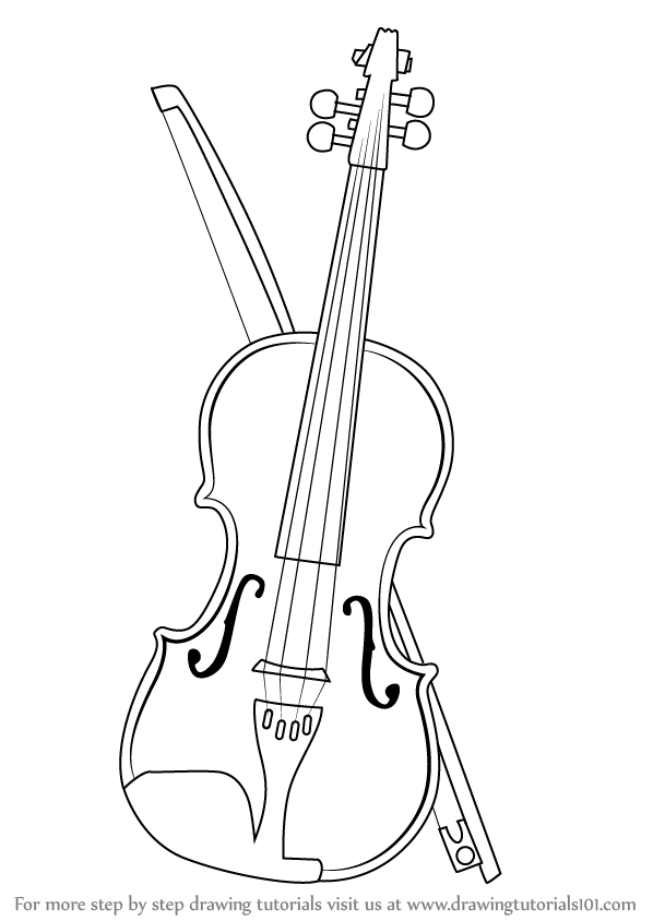 Line Drawing Violin : Violin sketch pictures to pin on pinterest daddy