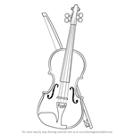 How to Draw a Violin