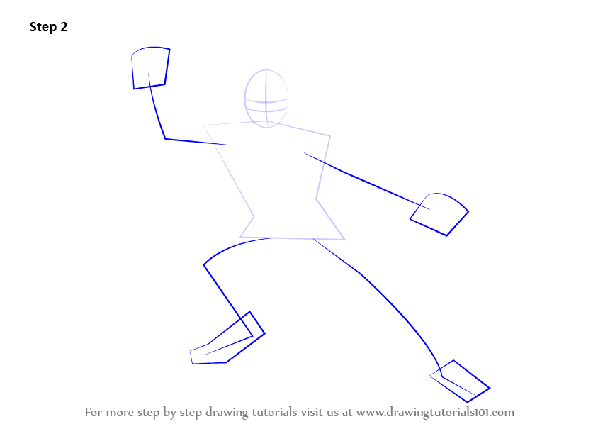 how to draw arms backwards