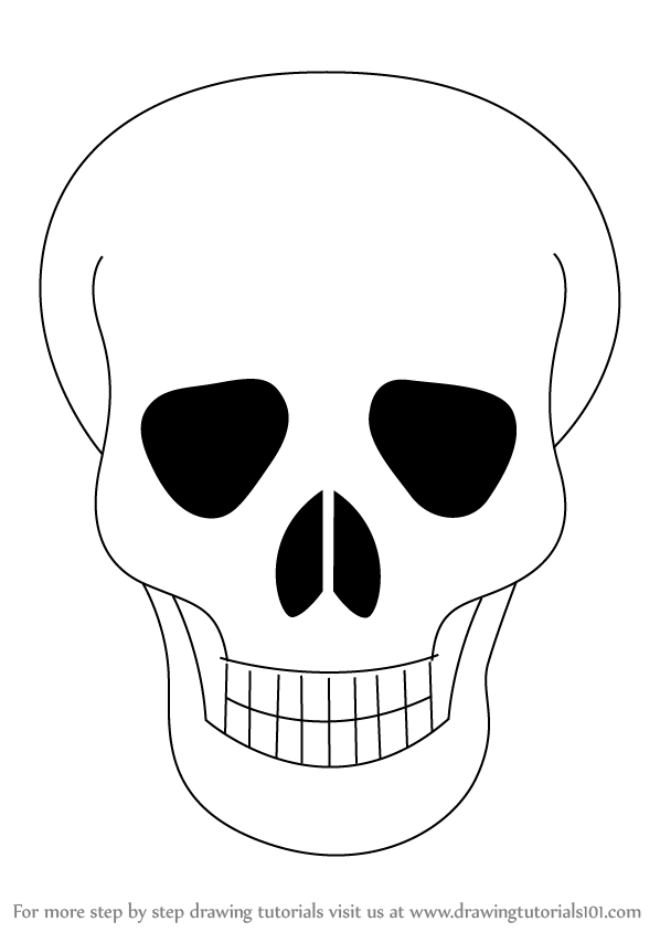 Learn How to Draw Skull Easy (Skulls) Step by Step ...