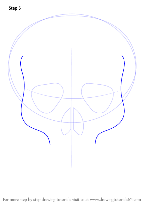 Learn how to draw skull easy skulls step by step drawing tutorials