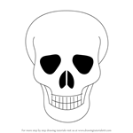 How to Draw Skull Easy